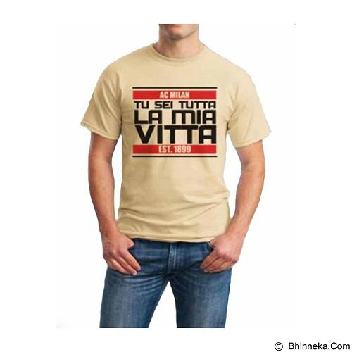 ORDINAL T-shirt AC Milan 04 Size S (Merchant) - Kaos Pria