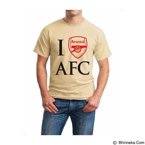 ORDINAL T-shirt Arsenal 05 Size S (Merchant) - Kaos Pria