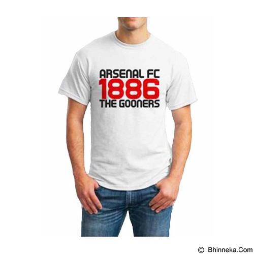 ORDINAL T-shirt Arsenal Year 02 Size XXL (Merchant) - Kaos Pria