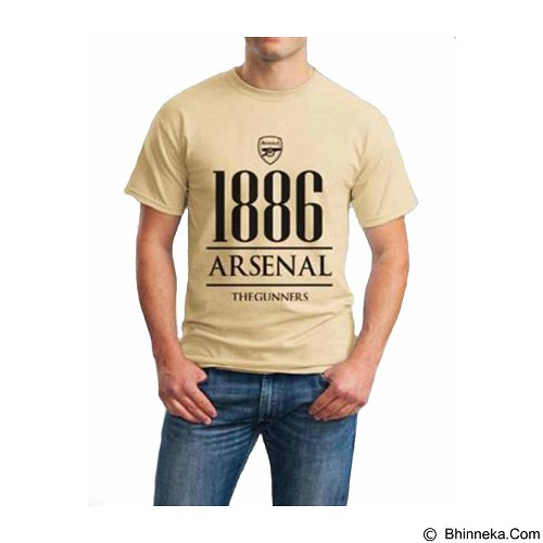 ORDINAL T-shirt Arsenal Year Size XL (Merchant) - Kaos Pria