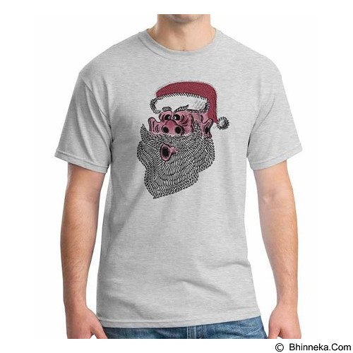 ORDINAL T-shirt Christmas - New Santa 08 Size S (Merchant) - Kaos Pria