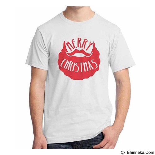 ORDINAL T-shirt Christmas - New Santa 12 Size XL (Merchant) - Kaos Pria