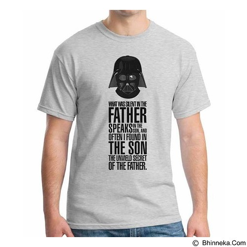 ORDINAL T-shirt Darth Vader 03 Size S (Merchant) - Kaos Pria
