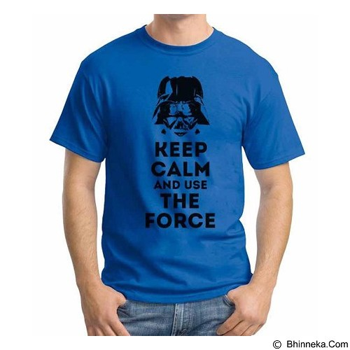 ORDINAL T-shirt Darth Vader Darth Keep Calm Size S (Merchant) - Kaos Pria