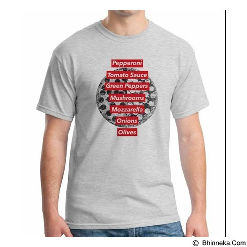 ORDINAL T-shirt Foodtastic 11 Size XL (Merchant) - Kaos Pria