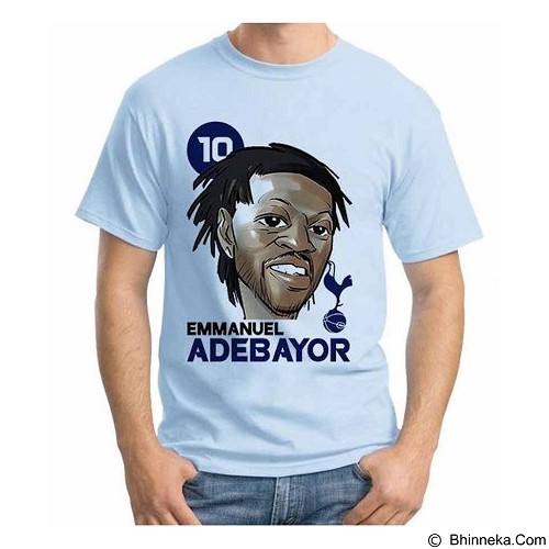 ORDINAL T-shirt Football Player Adebayor Size M (Merchant) - Kaos Pria