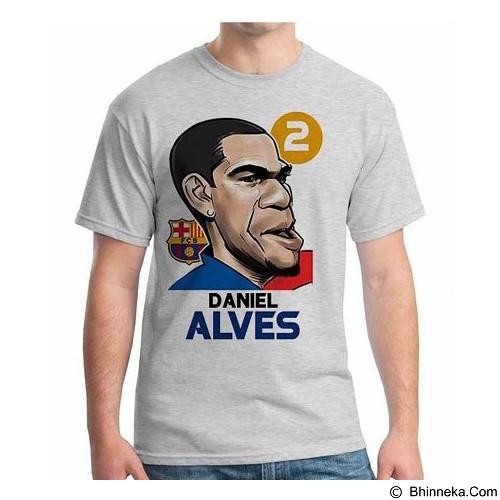 ORDINAL T-shirt Football Player Alves Size S (Merchant) - Kaos Pria
