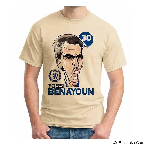 ORDINAL T-shirt Football Player Benayoun Size XL (Merchant) - Kaos Pria