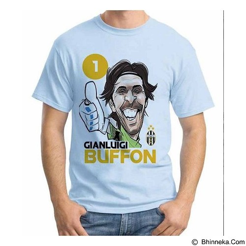 ORDINAL T-shirt Football Player Buffon Size XXL (Merchant) - Kaos Pria