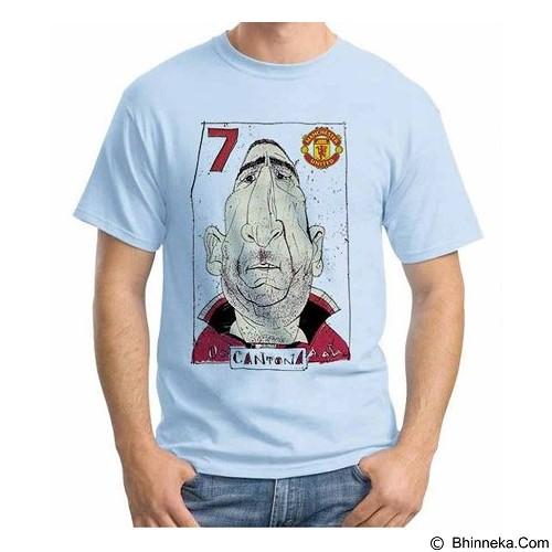 ORDINAL T-shirt Football Player Cantona Size L (Merchant) - Kaos Pria