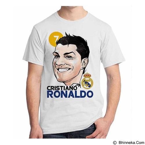 ORDINAL T-shirt Football Player Cristiano Ronaldo 01 Size ML (Merchant) - Kaos Pria