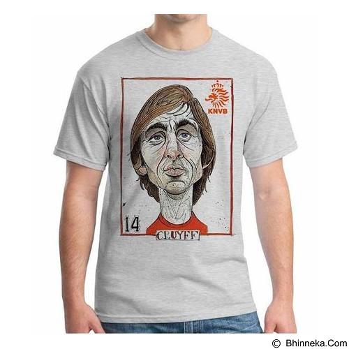 ORDINAL T-shirt Football Player Cruyff Size ML (Merchant) - Kaos Pria