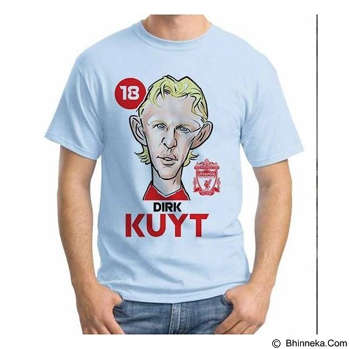 ORDINAL T-shirt Football Player Dirk Kuyt Size S (Merchant) - Kaos Pria