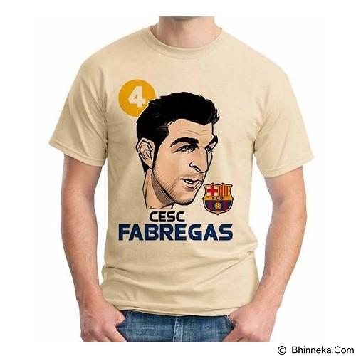 ORDINAL T-shirt Football Player Fabregas 02 Size XL (Merchant) - Kaos Pria