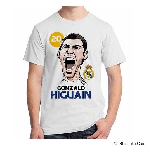 ORDINAL T-shirt Football Player Higuain Size M (Merchant) - Kaos Pria
