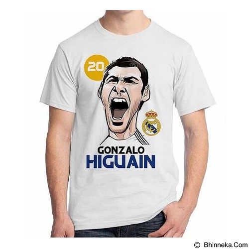 ORDINAL T-shirt Football Player Higuain Size XL (Merchant) - Kaos Pria