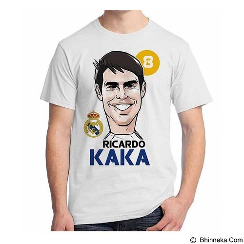ORDINAL T-shirt Football Player Kaka Size L (Merchant) - Kaos Pria