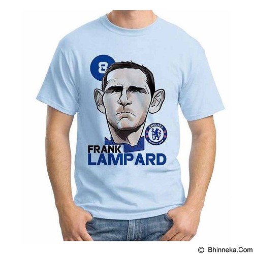 ORDINAL T-shirt Football Player Lampard Size XXL (Merchant) - Kaos Pria