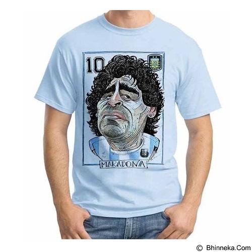 ORDINAL T-shirt Football Player Maradona 02 Size M (Merchant) - Kaos Pria
