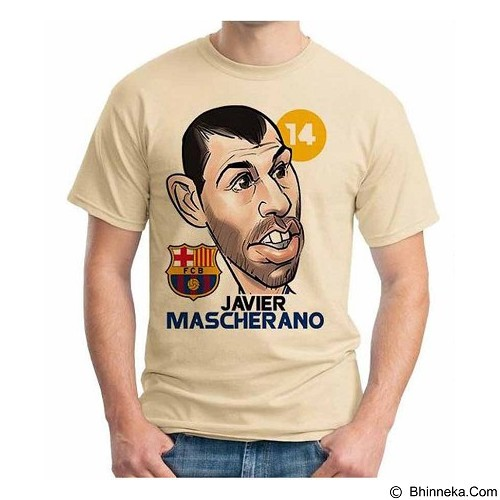 ORDINAL T-shirt Football Player Mascherano Size S (Merchant) - Kaos Pria
