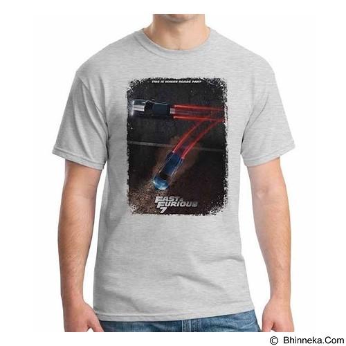 ORDINAL T-shirt Forious 7 Poster 02 Size XL (Merchant) - Kaos Pria