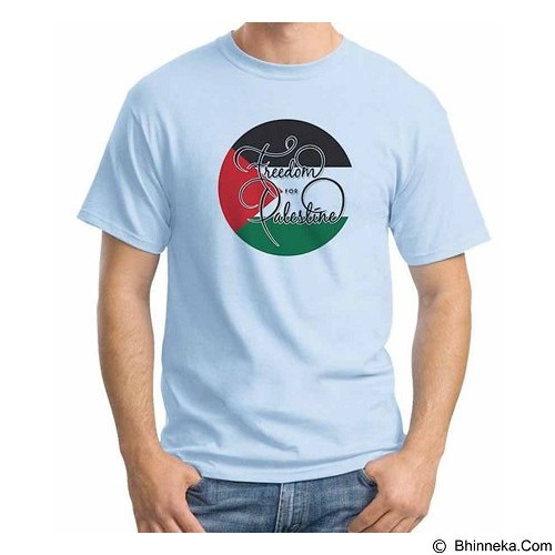 ORDINAL T-shirt Freedom For Palestine Size L (Merchant) - Kaos Pria