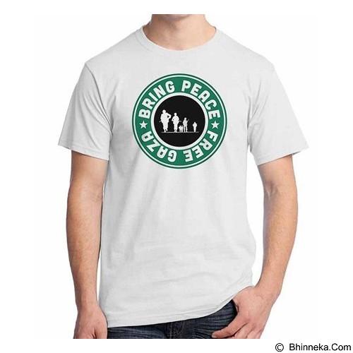 ORDINAL T-shirt Freedom Palestine Bring Peace Size XXL (Merchant) - Kaos Pria