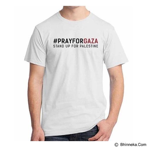 ORDINAL T-shirt Freedom Palestine Pray Gaza Size ML (Merchant) - Kaos Pria
