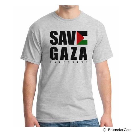 ORDINAL T-shirt Freedom Palestine Save Gaza Size S (Merchant) - Kaos Pria