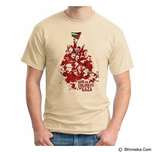 ORDINAL T-shirt Freedom Palestine Save The Childrens Size XXL (Merchant) - Kaos Pria