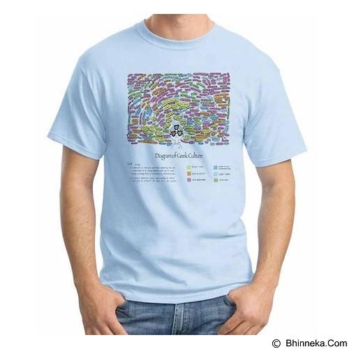 ORDINAL T-shirt Geek Diagram Size XXL (Merchant) - Kaos Pria