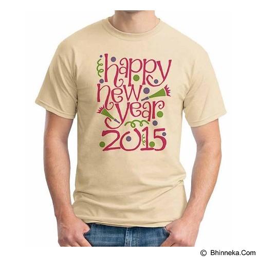 ORDINAL T-shirt Happy New Year 06 Size ML (Merchant) - Kaos Pria