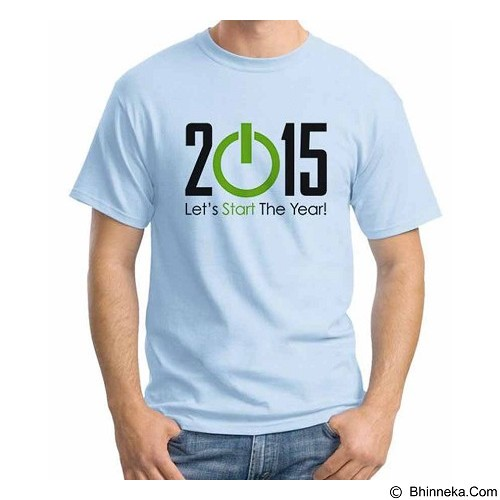 ORDINAL T-shirt Happy New Year 11 Size M (Merchant) - Kaos Pria