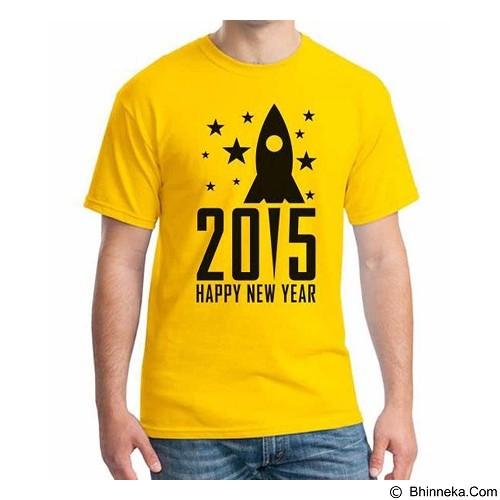 ORDINAL T-shirt Happy New Year 13 Size L (Merchant) - Kaos Pria