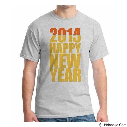 ORDINAL T-shirt Happy New Year 15 Size XL (Merchant) - Kaos Pria