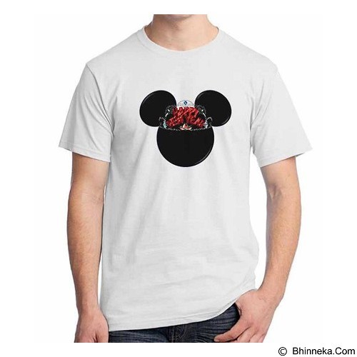 ORDINAL T-shirt Happy New Year Mickey Size XXL (Merchant) - Kaos Pria