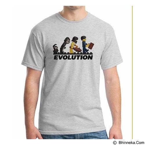 ORDINAL T-shirt Human Lego Evolution Size ML (Merchant) - Kaos Pria