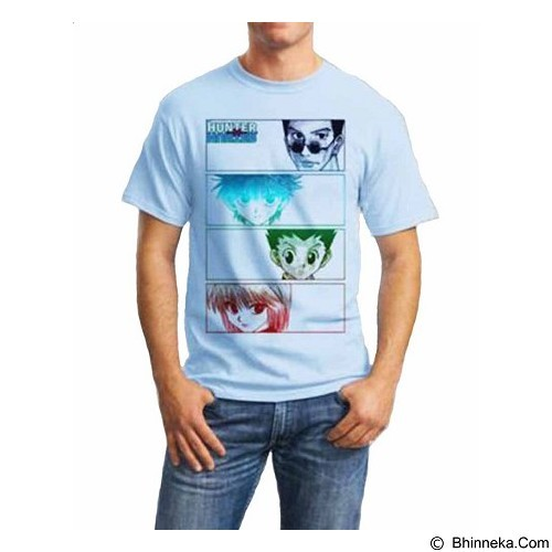 ORDINAL T-shirt Hunter X Hunter 08 Size XXL (Merchant) - Kaos Pria