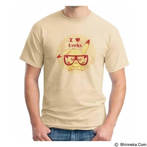 ORDINAL T-shirt I Love Geek Size S (Merchant) - Kaos Pria