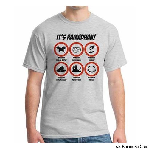 ORDINAL T-shirt It's Ramadan Size S (Merchant) - Kaos Pria