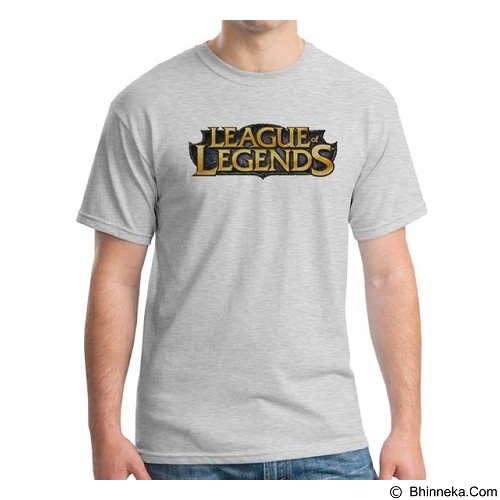 ORDINAL T-shirt League Of Legend Logo 01 Size L (Merchant) - Kaos Pria