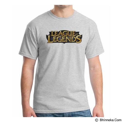ORDINAL T-shirt League Of Legend Logo 01 Size L (Merchant) - Kaos Pria