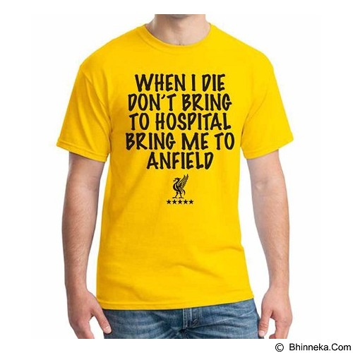 ORDINAL T-shirt Liverpool Edition 07 Size S (Merchant) - Kaos Pria