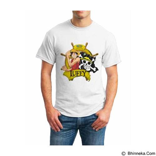 ORDINAL T-shirt Luffy 02 Size M (Merchant) - Kaos Pria
