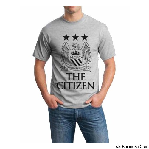 ORDINAL T-shirt Manchester City 01 Size ML (Merchant) - Kaos Pria