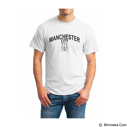 ORDINAL T-shirt Manchester City 03 Size ML (Merchant) - Kaos Pria