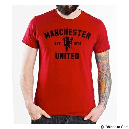 ORDINAL T-shirt Manchester United Edition 01 Size XXL (Merchant) - Kaos Pria