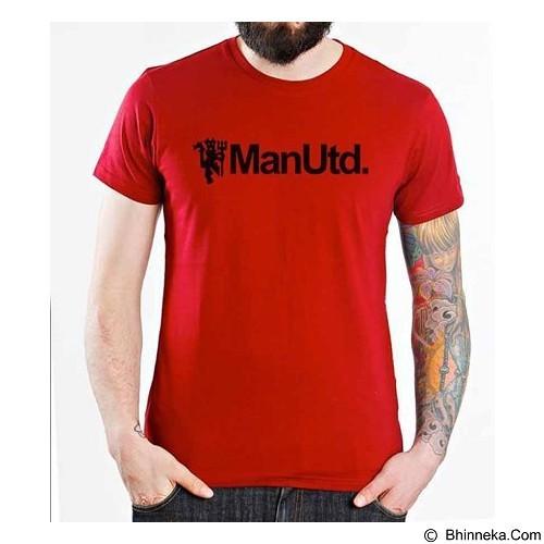 ORDINAL T-shirt Manchester United Edition 07 Size XXL (Merchant) - Kaos Pria