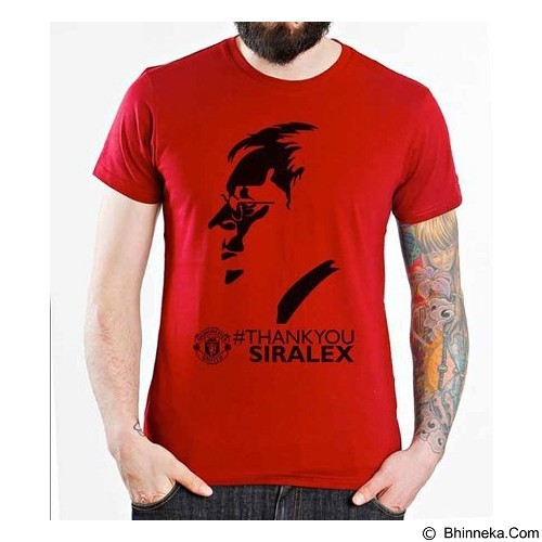 ORDINAL T-shirt Manchester United Edition 09 Size ML (Merchant) - Kaos Pria