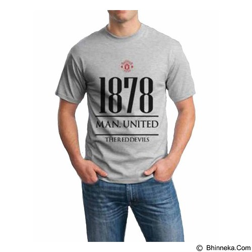 ORDINAL T-shirt Manchester United Year Size M (Merchant) - Kaos Pria